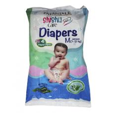 SHISHU CARE BABY DIAPER (MEDIUM-4)