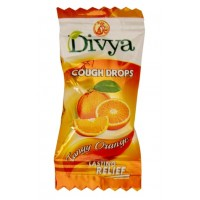 DIVYA COUGH DROPS ORANGE