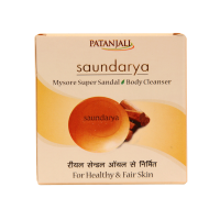 SAUNDARYA SANDAL BODY CLEANSER (75 Gm.)